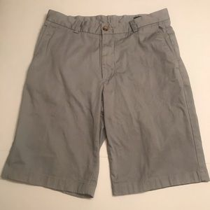 "Vineyard Vines Light Grey Breaker Shorts 31 10"""